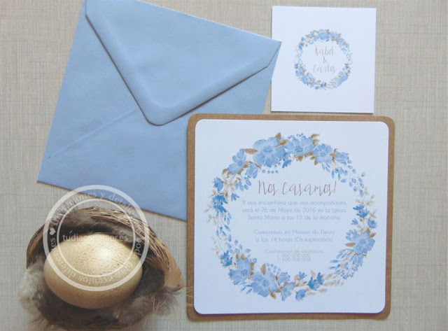 Nueva colección de invitaciones de boda para el 2016