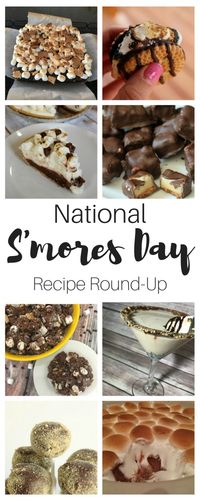 2017 National S'mores Day Recipes