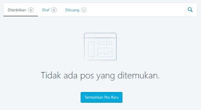 Dashboard Wordpress