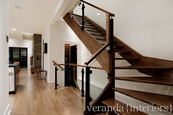Altadore I Office Mud Room Stairs