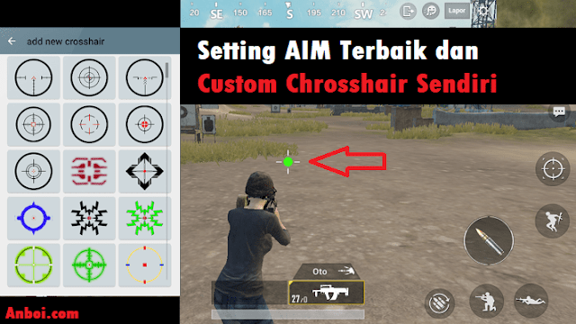 Setting Aim PUBG Mobile Agar Makin Mantap