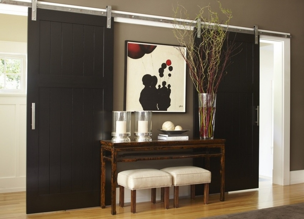 Home Decor Sliding Doors: Eye For Design: Decorate With Sliding Barn Doors