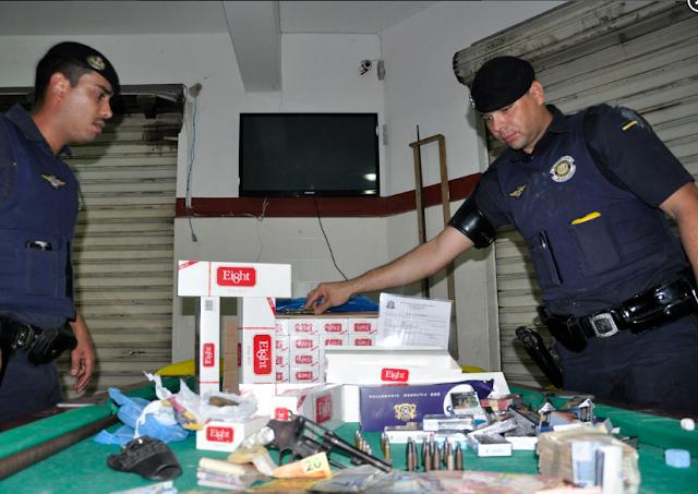Guarda Civil de Indaiatuba apreende drogas, arma e mais R$ 7 mil