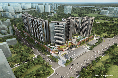 The Andrew Residences - Aerial
