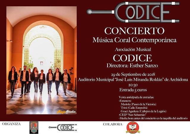 Concierto de Música Coral Contemporánea en Archidona