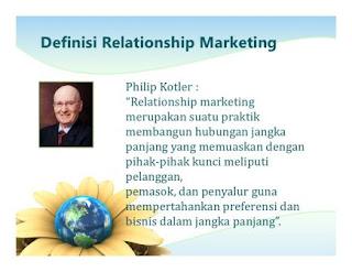 Pengertian Relationship Marketing Menurut Para Ahli