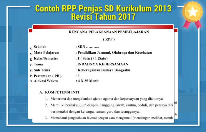 RPP Penjas SD