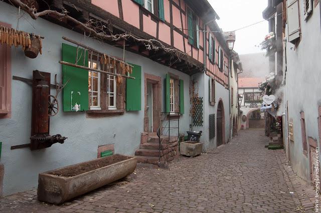 Visitar Riquewihr Alsacia