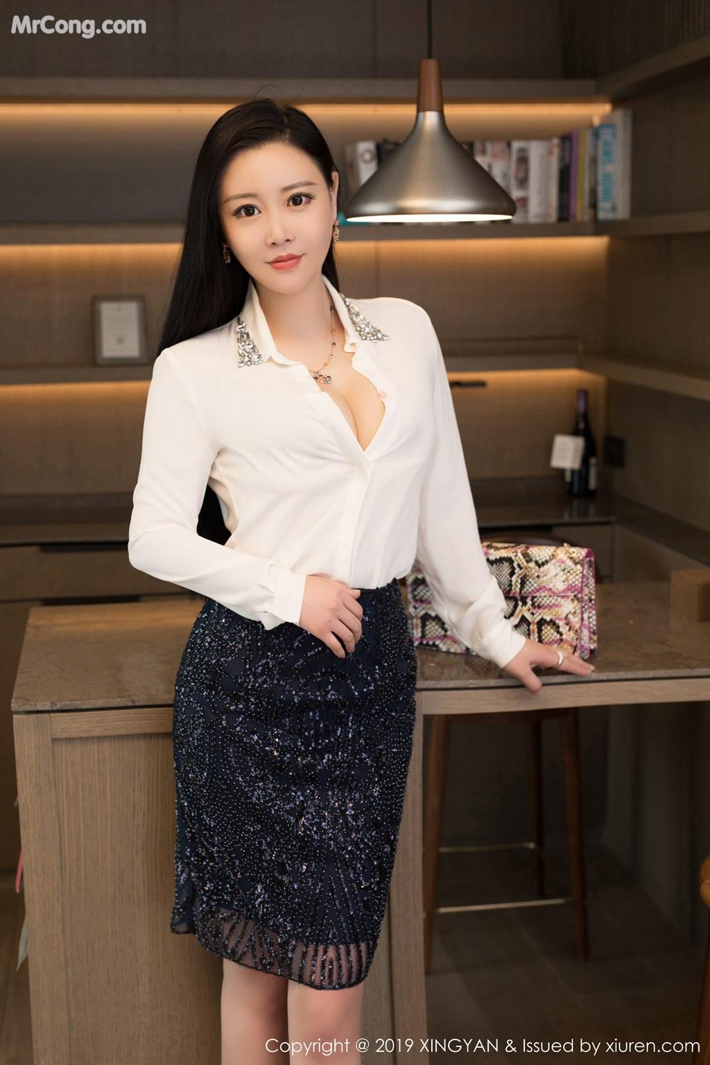 Image XingYan-Vol.115-Wang-Wan-You-Queen-MrCong.com-006 in post XingYan Vol.115: Wang Wan You (王婉悠Queen) (42 ảnh)