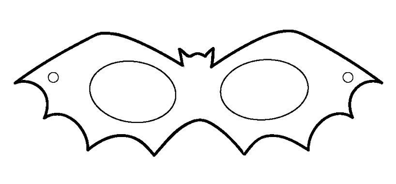Mascara De Morcego Para Imprimir Halloween Ou Dia Das Bruxas