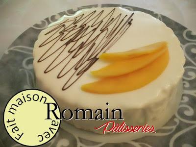 Chocolat blanc et chutney de mangues