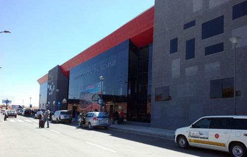 Aeropuerto Internacional Alcantarí - Sucre