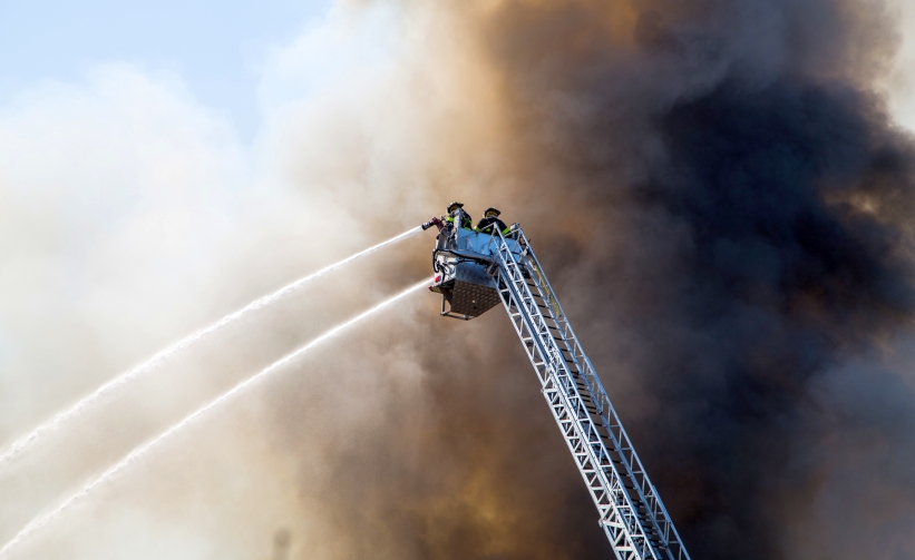 Rede Feuerwehr