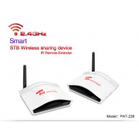 PAKITE PAT-226 2.4G long rang transmitter for home theater TV CCTV Camera Set-Top Box