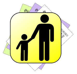 Dad and child - over hymn suggestions icon
