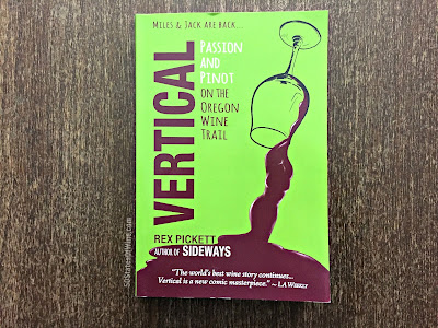 Book Review - Vertical: Passion and Pinot on the Oregon Wine Trail