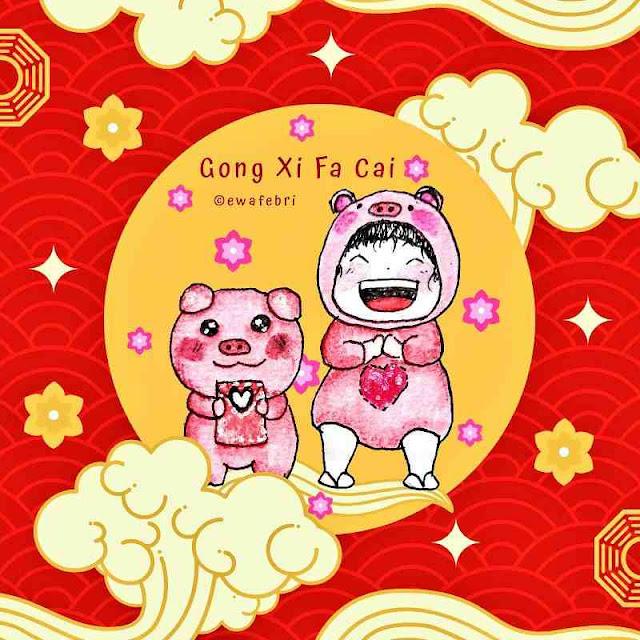 tahun baru china [imlek] oleh ewafebri