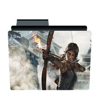 Preview of Tomb Raider Game folder icon