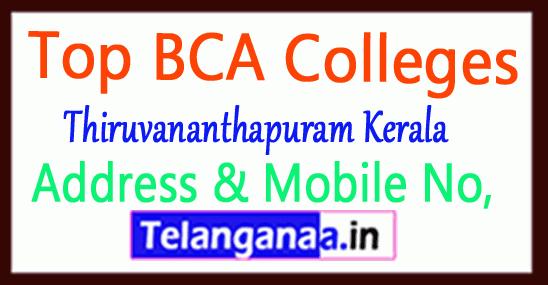 Top BCA Colleges in Thiruvananthapuram Kerala