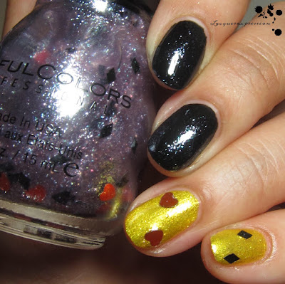 i'm all in nail polish swatch by sinfulcolors