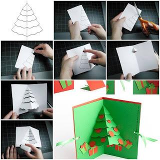 Handmade Christmas greeting cards  Christmas greeting cards making  DIY Christmas cards