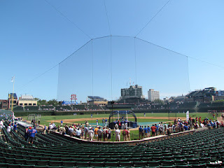 Home to center, Wrigley Field