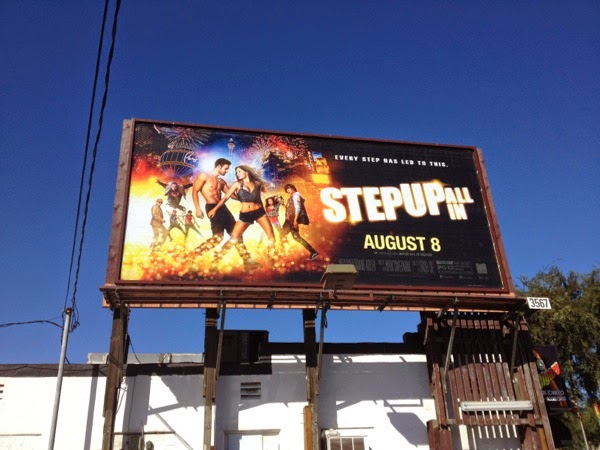 Step Up All In movie billboard