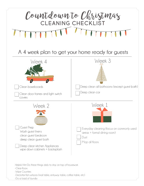 cleaning your home for the holidays