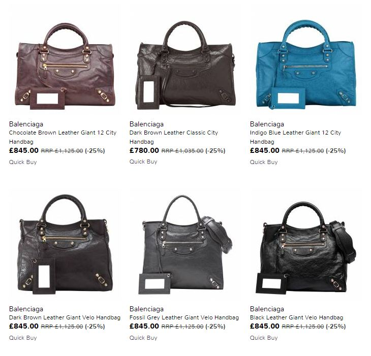 eb4798c6d6dd I don t usually post deals on my blog but I spotted this and just thought  it was too good not to mention. Brand Alley launched a sale on Balenciaga  bags ...
