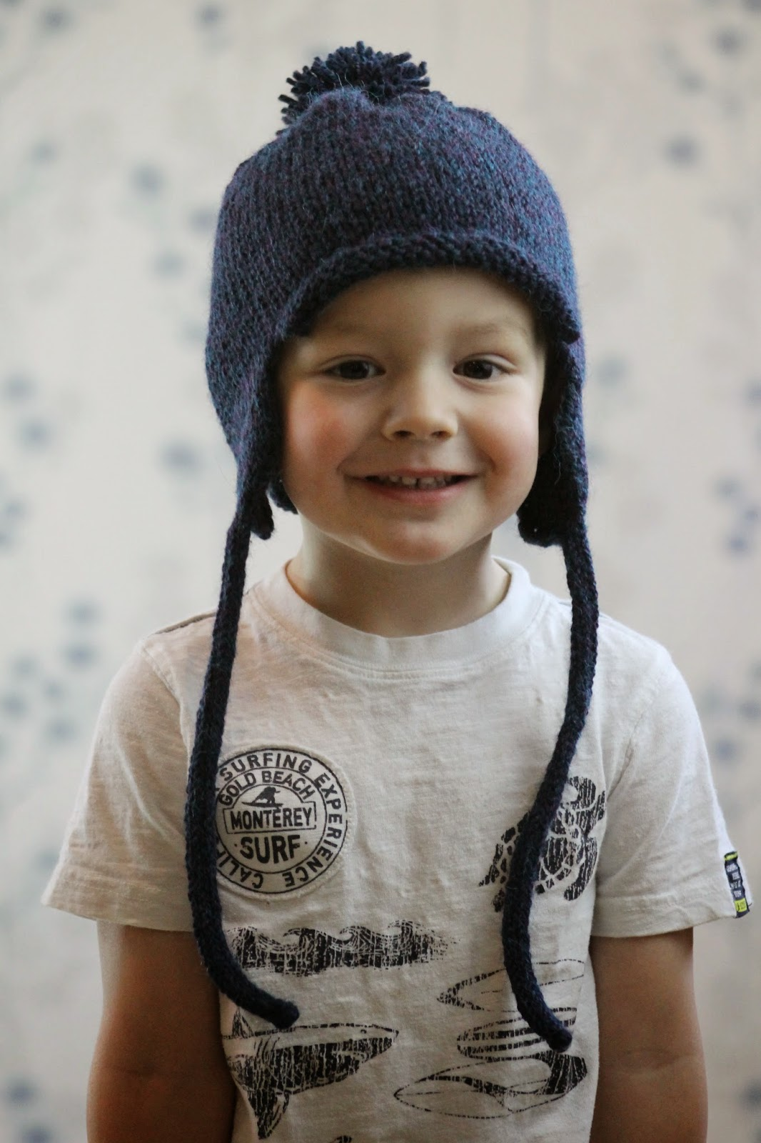 Earflap Hat Knitting Pattern Free : Balls to the Walls Knits: All in the Family Earflap Hat