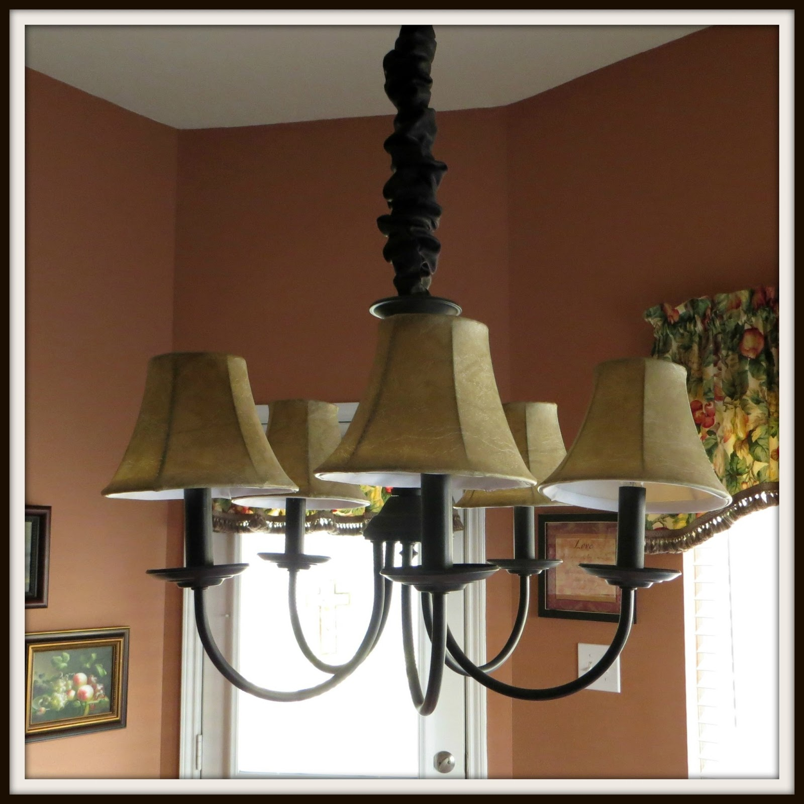 Dining Room Light Fixture: Crafty In Crosby: Breakfast Room Light Fixture