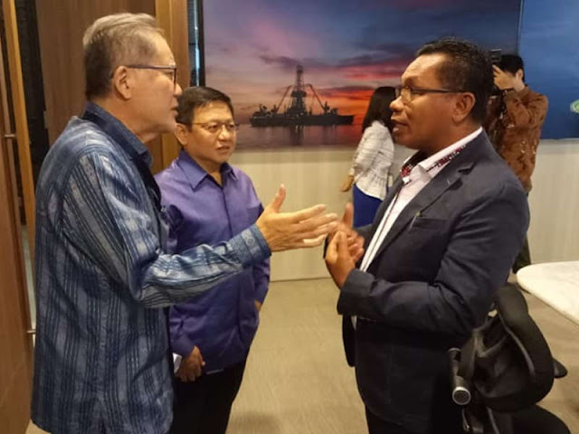 Inpex, SKK Migas dan Pemkab MTB Bahas Sinkronisasi Program CSR di Tanimbar