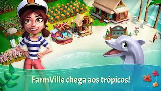 FarmVille: Tropic Escape Apk Mod Gemas Infinitas