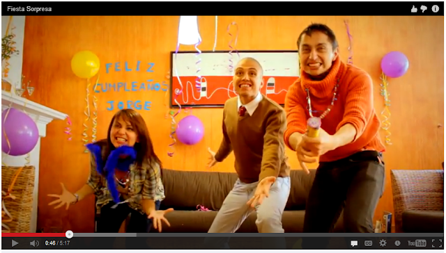 ultimo video de Enchufe tv fiesta sorpresa