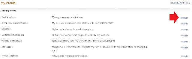 Membuat PayPal Buttons