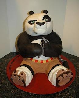 kue ulang tahun kung fu panda