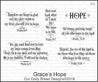 Our Daily Bread designs Grace's Hope