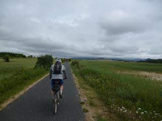 Salida de Vitoria. Carril bici