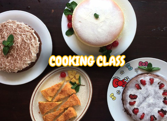 Cooking Class : Made a Sponge Cake