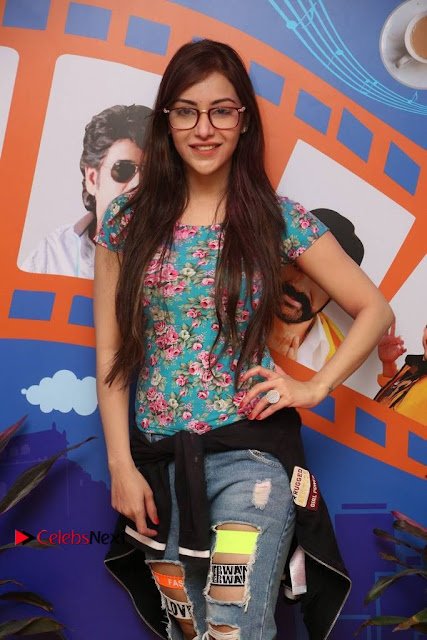 Telugu Actress Angela Stills in Ripped Jeans Angela Stills At Radio City For Rogue Promotions  0003.jpg