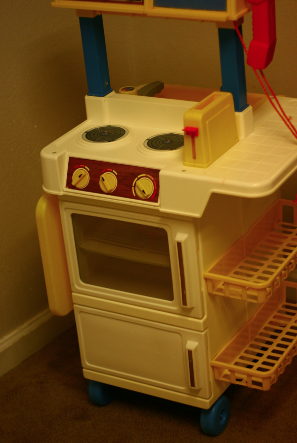 a new house and a tight budget: play kitchen