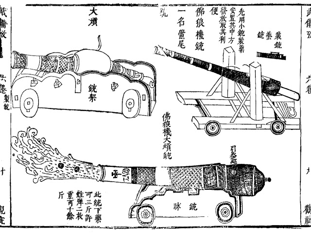 Chinese-adopted European cannons