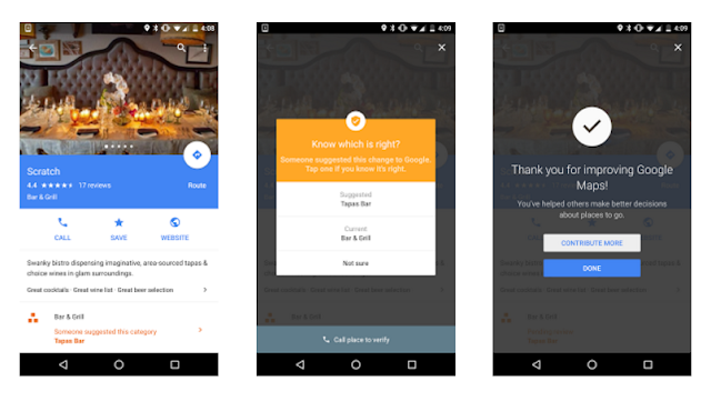 Google Launches the Crowd Verifying on Google Map