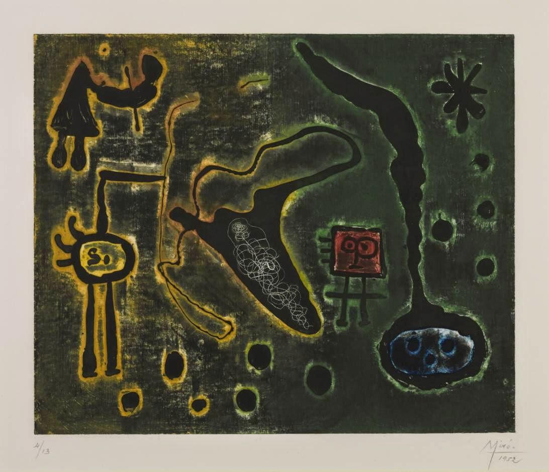 Série ll - Miró, Joan e suas principais pinturas