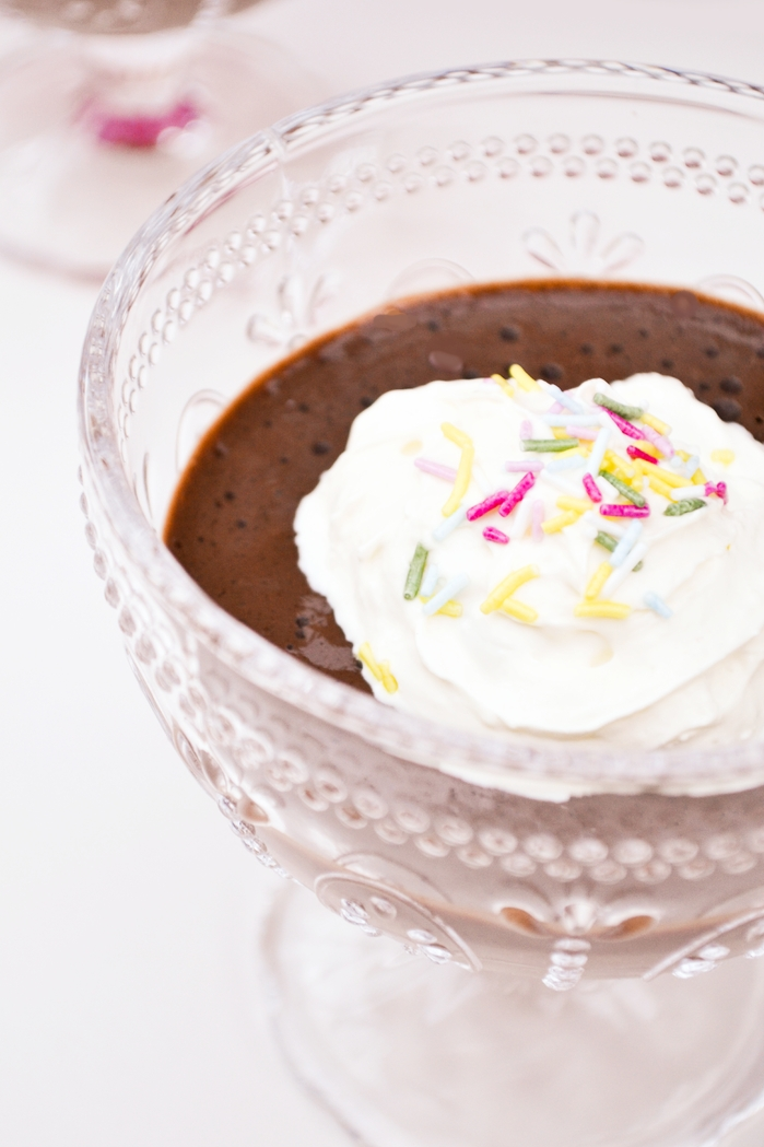 An indulgent chocolate mousse that is sneakily healthy as well as divinely chocolatey. The perfect treat for January after all the indulgences of Christmas and new year. The perfect treat for kids too. They'll never figure out it's super healthy. www.tinnedtomatoes.com