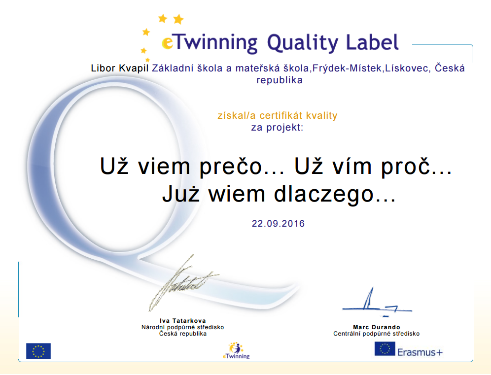 Quality Label CZ
