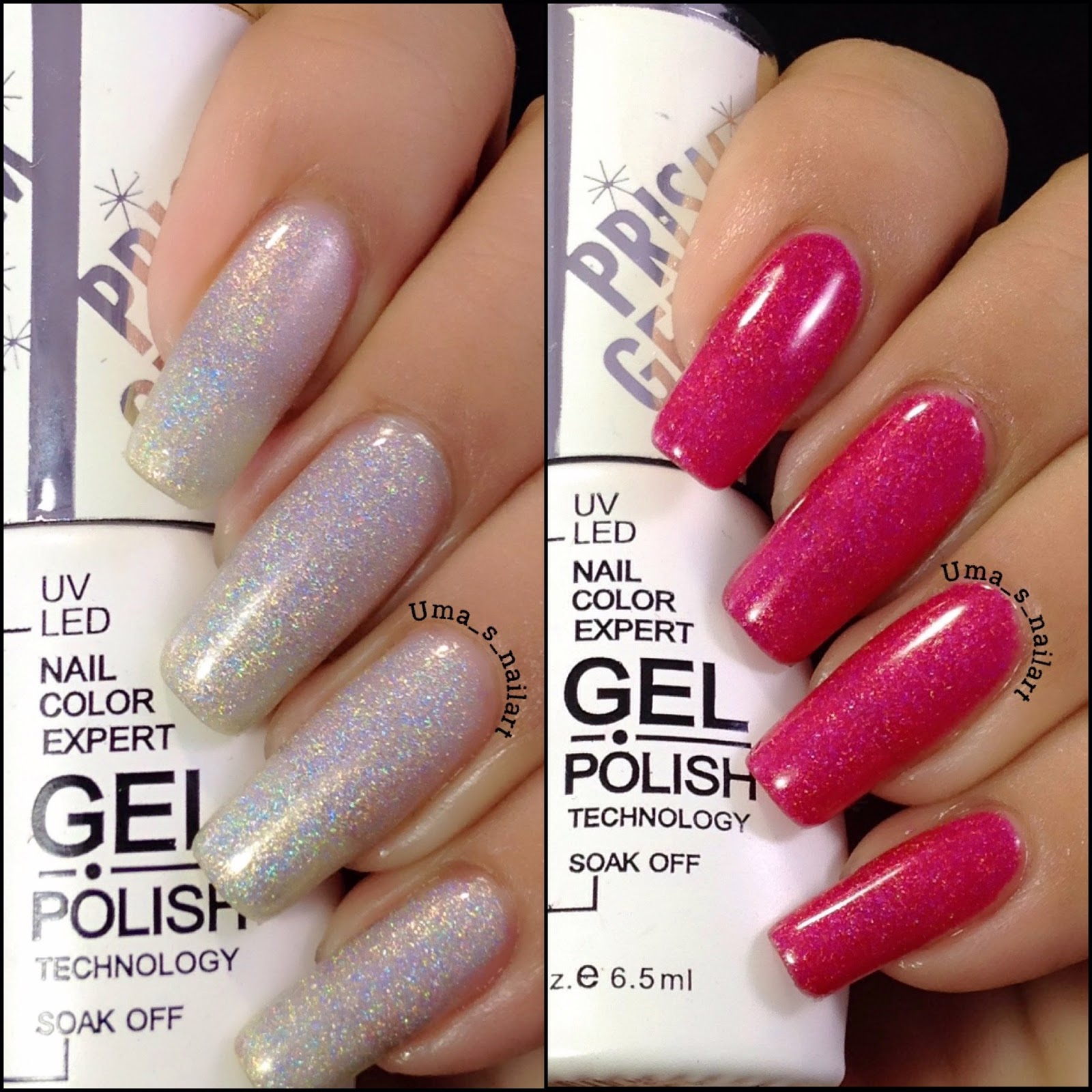 Uma\'s Nail Art: Dance Legend Gel Polishes Review and Swatches...
