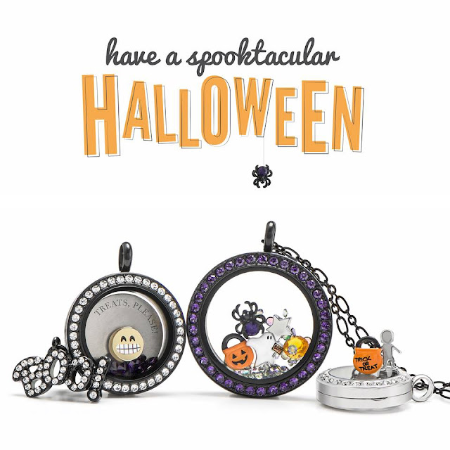Origami Owl Halloween Collection at StoriedCharms.com