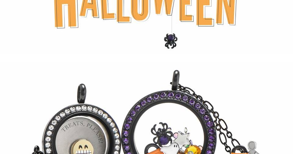 How cute are these three Halloween-inspired Living Lockets? These ... | 504x960