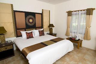 dormitorio estilo oriental